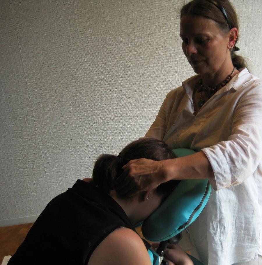 Schulter Nacken Massage